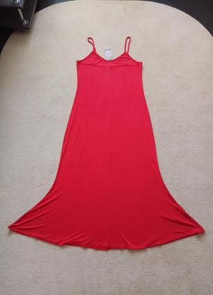 Сарафан платье вискозный трикотаж