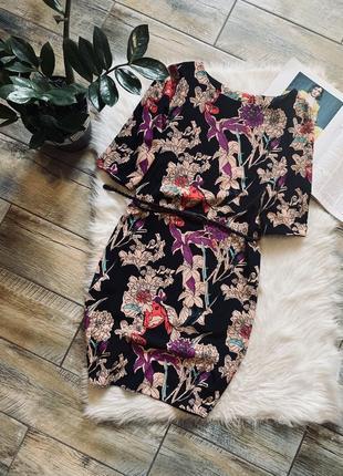 Плаття в квітковий принт від f&f🌿