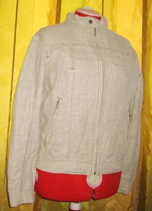 Курточка льняная