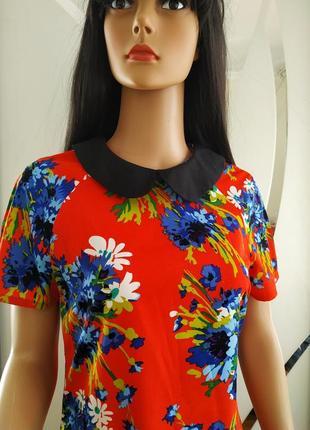 Платье в цветы atmosphere.
