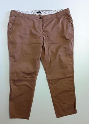 Фирменные хлопковые брюки штаны