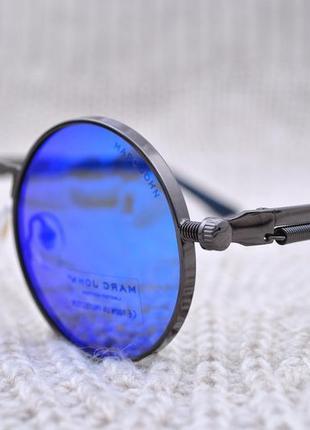 Фирменные солнцезащитные круглые очки marc john polarized unisex mj0792