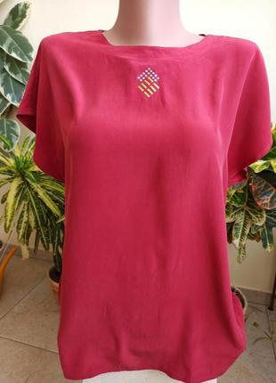 Блуза из шелка бренда sand