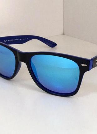 Шикарные очки ray ban полимерные вайфареры