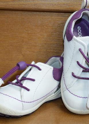 Фирменные кроссовки ecco biom, размер 23