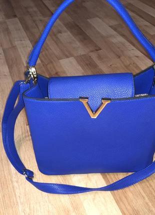 Продам сумку синего цвета