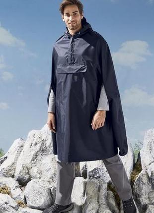 Crivit мужской плащ дождевик с отражающими элементами германия, размер м-л, новый