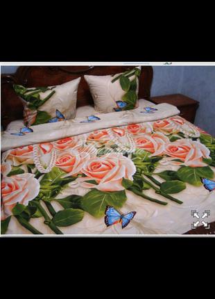 Двойной комплект постельного белья, постельное, ранфорс