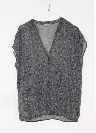 Легкая блузка с вышивкой-пайетками orsay