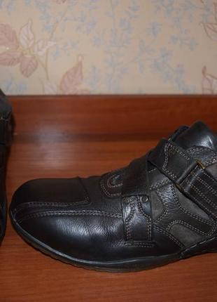 Туфли bugatti (германия) кожа р.43