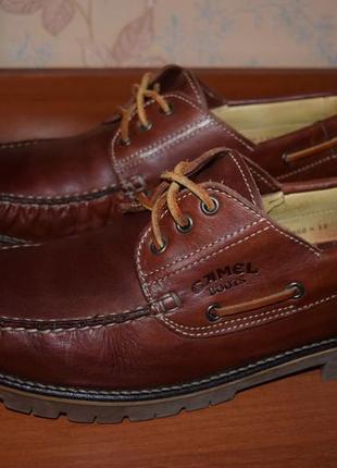 Туфли camel boots (германия) кожа прошитые р.11(46) по стельке 30см сост.отл.