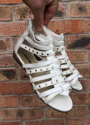 Босоножки din sko (швеция) размер 34 (21,5 см.)