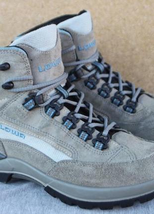 Ботинки lowa gore-tex замша германия 38р треккинговые непромокаемые