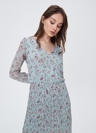 Платье  👗 миди в цветочек