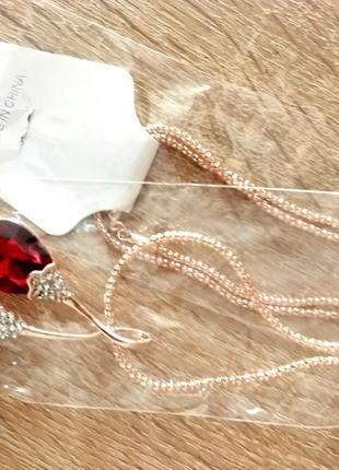 Колье подарок или обмен на материалы для ногтей