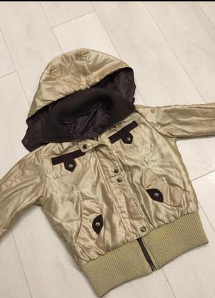 Шикарная двухсторонняя куртка