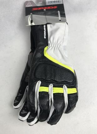 Мотоперчатки  grip 2 leather lady black/fluoresce c 45 итальянской м. spidi  размер  xxl