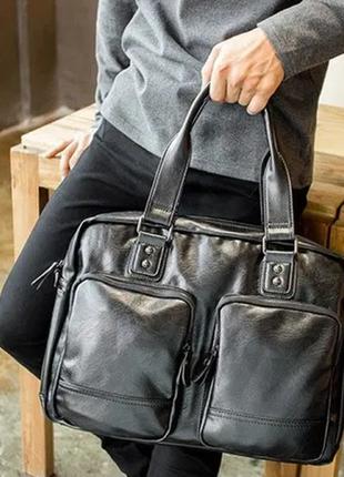 Мужская городская сумка. сумка для работы, поездок ксд4