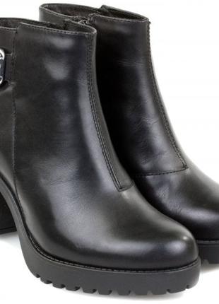 Срочно❗️100% кожаные демисезонные ботинки / натуральная кожа