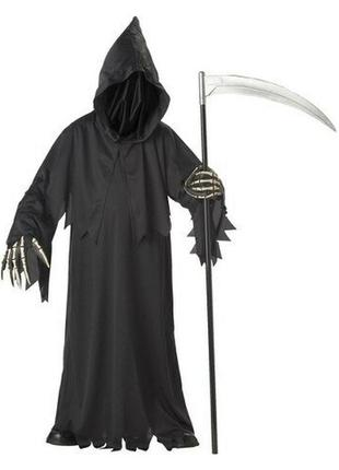 Палач зомби призрак ведьма туника с капюшоном 8-10 лет