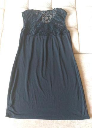 Маленькое короткое, облегающее, чёрное платье р.м