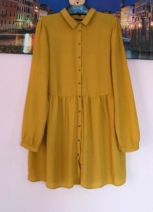Блуза платье