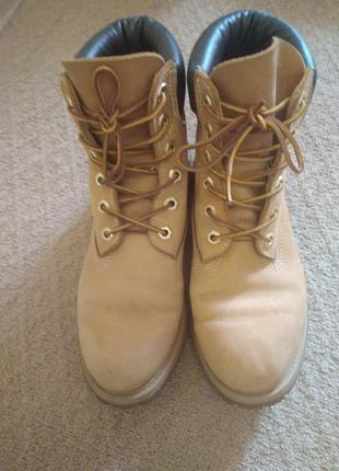 Ботинки тиберленд классические