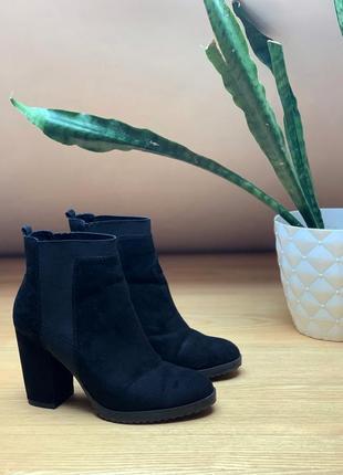 Чобітки bershka сапоги туфли