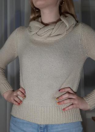 Теплый женский свитер h&m