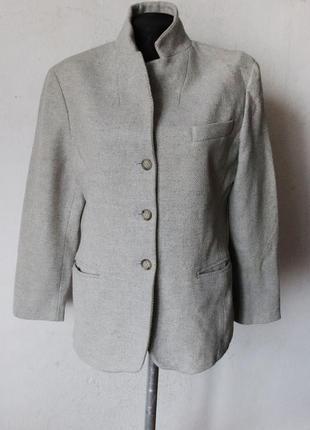 Пиджак max mara шерсть