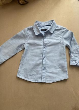 Детская рубашка на мальчика