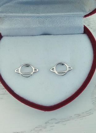 Серебряные серьги юпитер, сережки, серебро, срібні кульчики, срібло