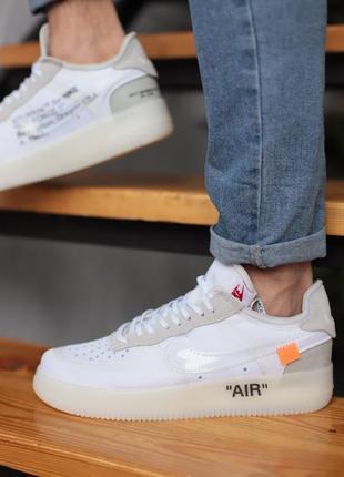 Nike air force 1 off white ♦ мужские кроссовки ♦ весна лето осень