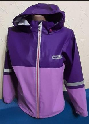 Куртка непромакаемая р128-134см