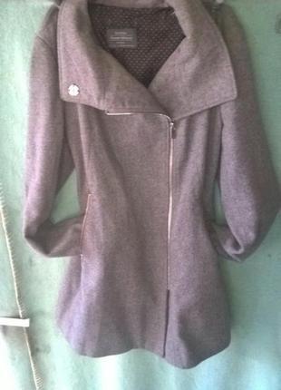 Пальто косуха пальтишко 44 размер демисезонное