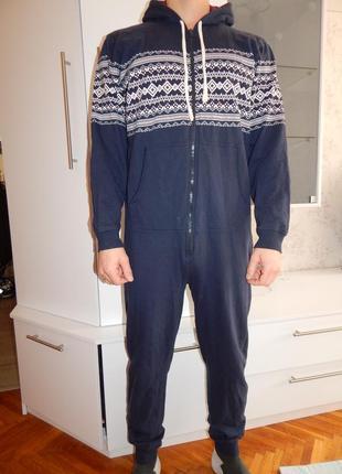 George слип пижама человечек кигурими мужской трикотажный рм с капюшоном
