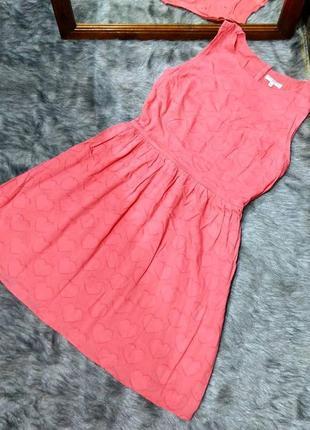 #розвантажуюсь платье c отрезной талией из коттона/ситца new look