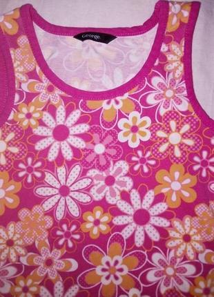 Платье, сарафан для девочки 4-6 лет
