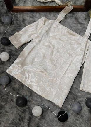 #розвантажуюсь блуза кофточка с вырезами на плечах next
