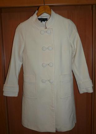 Весеннее шерстяное пальто от zara