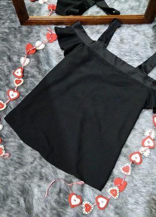 #розвантажуюсь топ блуза кофточка с вырезами на плечах atmosphere