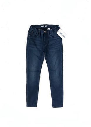 Зауженные джинсы супер комфорт 8-9 лет. h&m швеция 🇸🇪