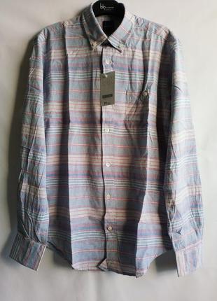 Мужская рубашка  хлопок французского бренда promod европа франция