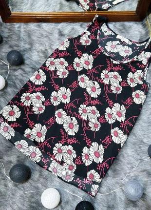 #розвантажуюсь топ блуза кофточка с цветочным принтом papaya