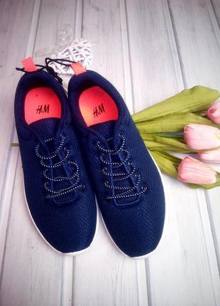 Лёгкие кроссовки, лентяйки, h&m, бирка