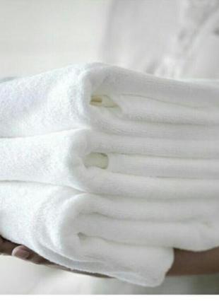 Махровое полотенце, отельный вариант, пр-во турция