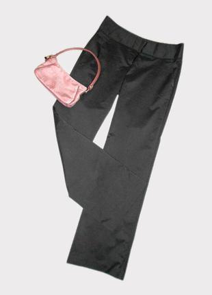 Шикарные офисные брюки с процентовкой шелка