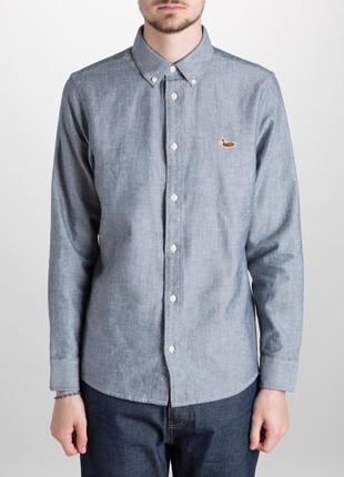 Крутая оригинальная рубашка carhartt duck logo tweed shirt