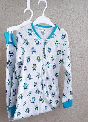 Хлопковый слип пижама