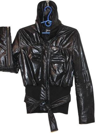 Демисезонная куртка бомбер утеплённая лёгкая плащёвка women class sports s/36